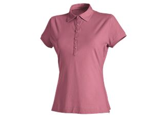 e.s. Polo shirt cotton stretch, ladies'