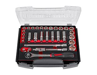 Socket wrench set lockfix 1/2 in e.s. i-Boxx 72