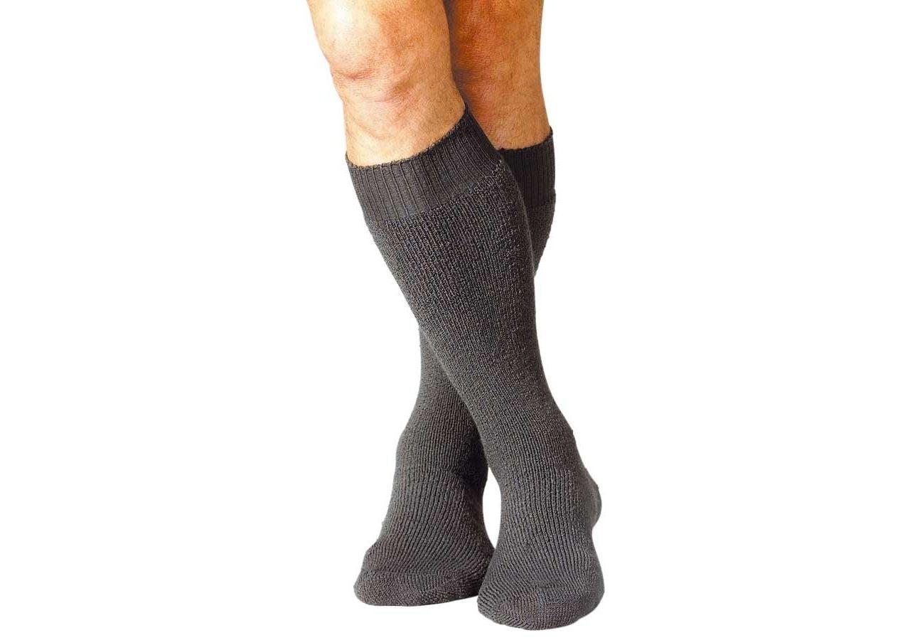 Sockor | Strumpor: e.s. eskimåstrumpor Nature x-warm/x-high + antracit
