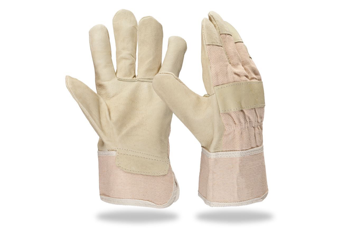 Leather: Full leather gloves