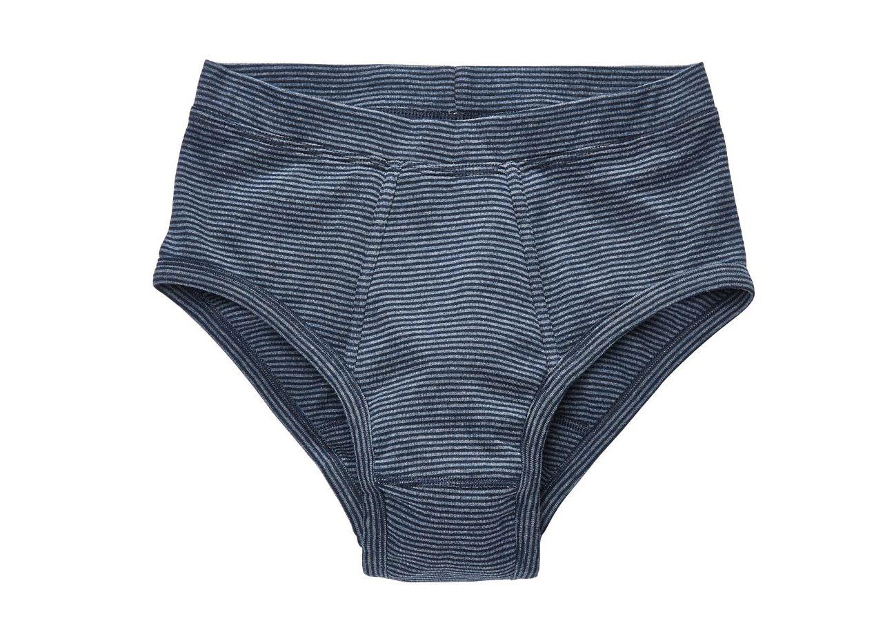 Underkläder    Underställ: e.s. finribbade kalsonger classic, 2-pack + mörkblå randig