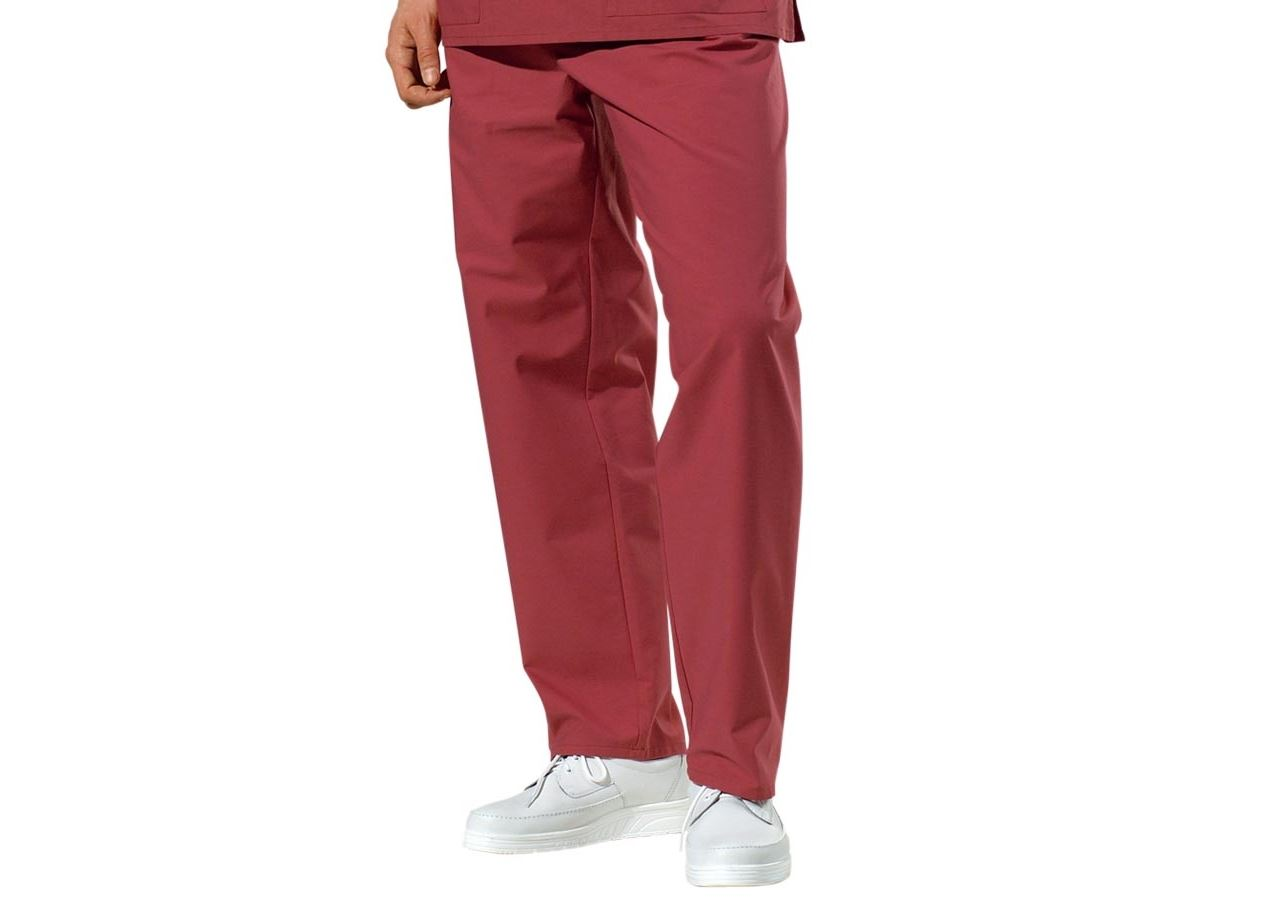 Work Trousers: OP-Trousers + bordeaux