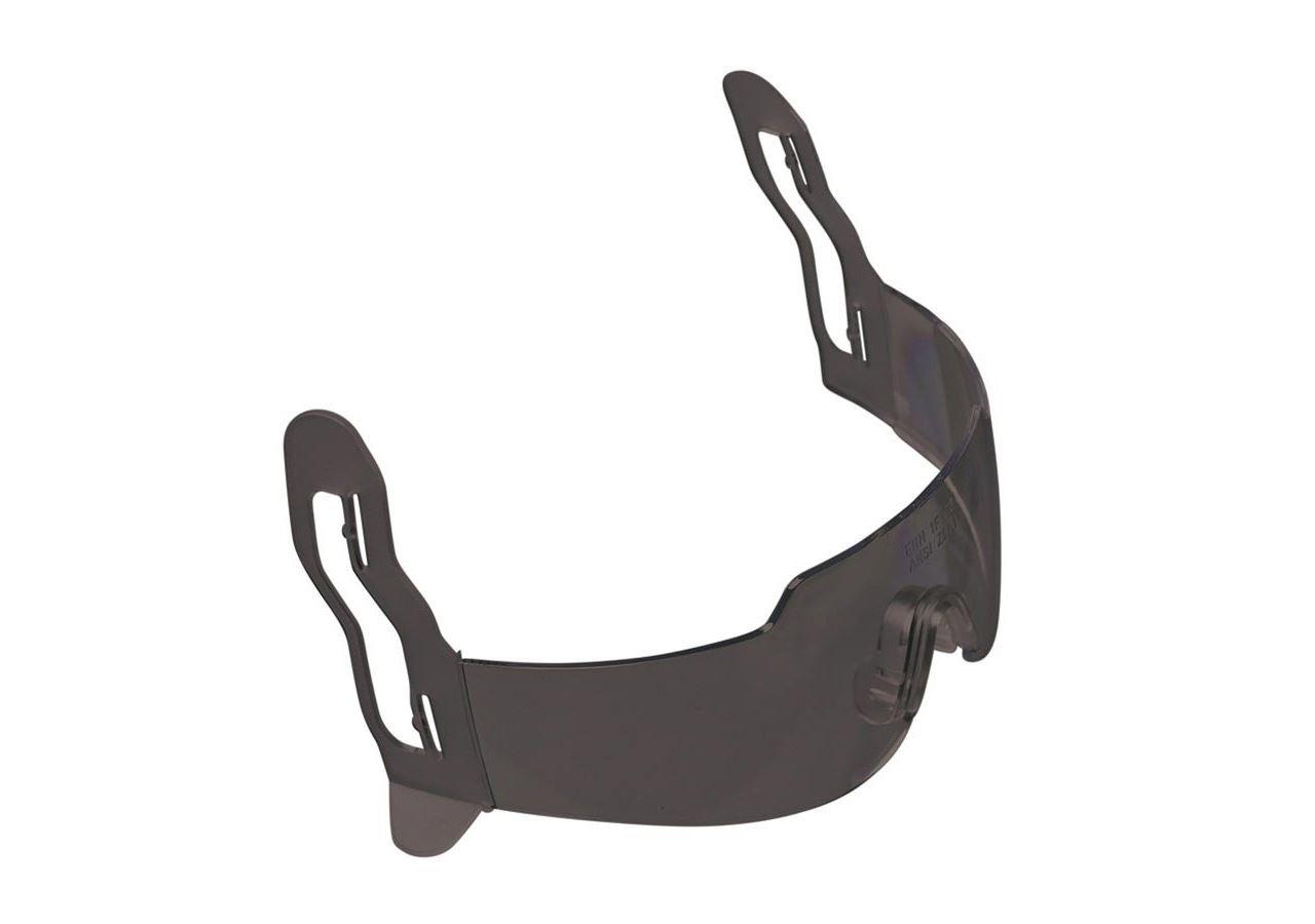 Skyddsglasögon: Integrerade hjälmglasögon