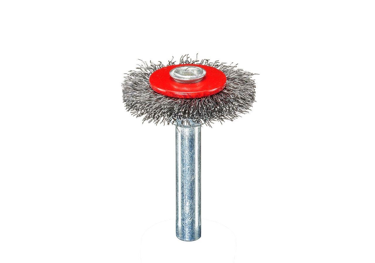 Slipverktyg: Rundborstar med skaft