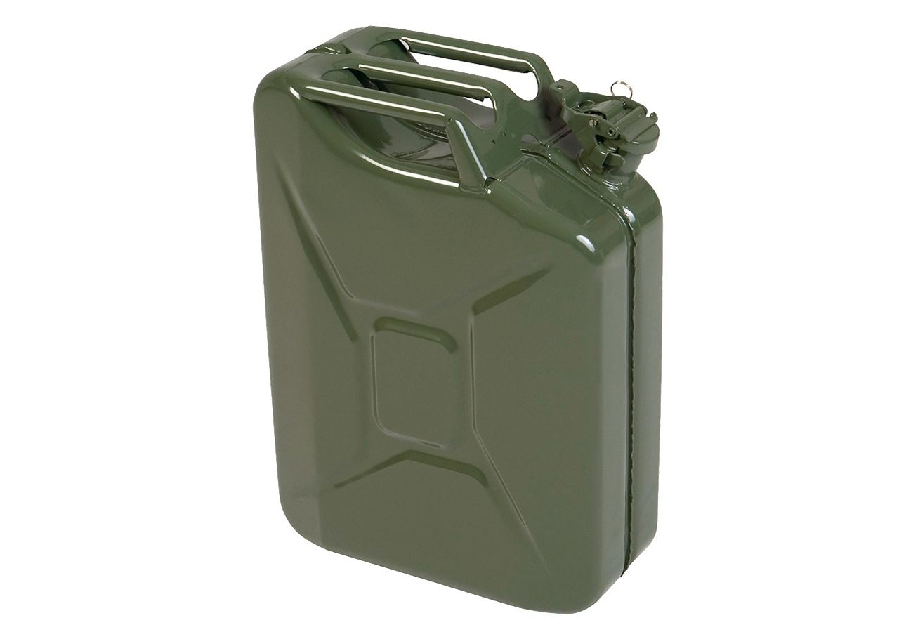 Containers: Metal fuel cans