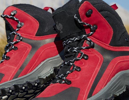 O2: e.s. O2 Work boots Culio + red/black 2