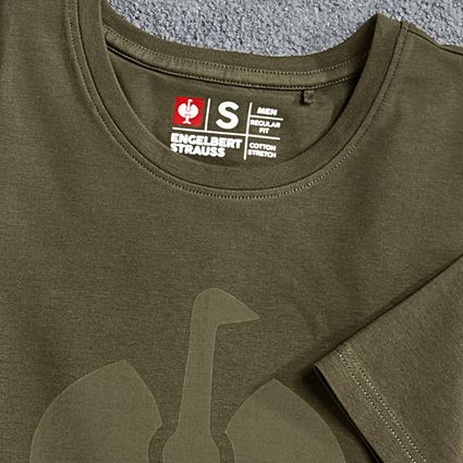 Överdelar: T-Shirt  e.s.concrete + slammgrön 2