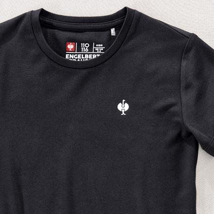 Överdelar: Modal-shirt e.s. ventura vintage, barn + svart 2