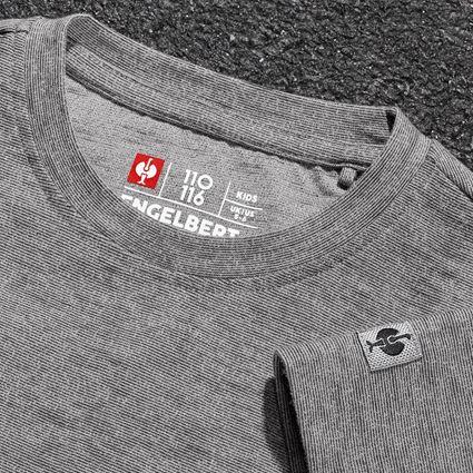 Överdelar: T-Shirt e.s.vintage, barn + svart melange 2