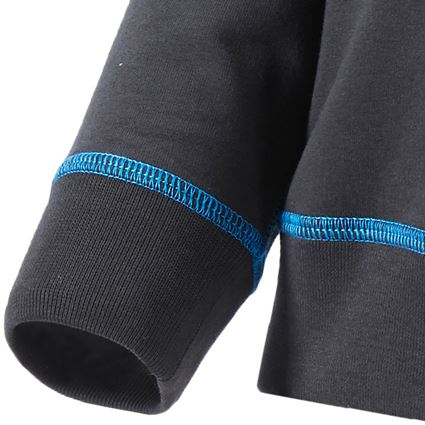 Överdelar: sweatshirt e.s.motion 2020, barn + grafit/gentianablå 2