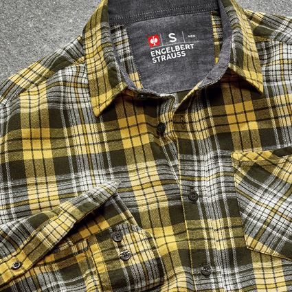 Överdelar: Rutig skjorta e.s.vintage + kamouflage grön rutigt 2