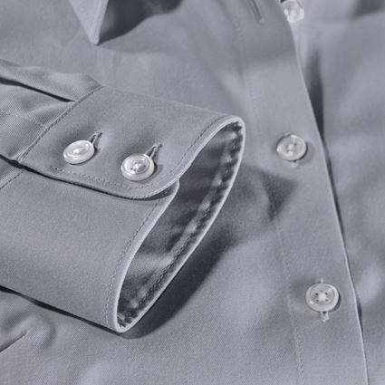 Shirts, Pullover & more: e.s. Business blouse cotton str. lad. regular fit + mistygrey 2