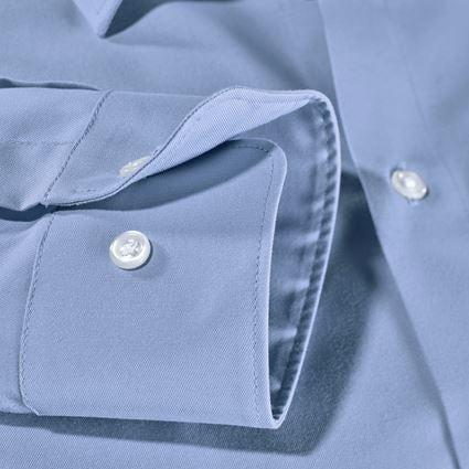 Överdelar: e.s. Kontorsskjorta cotton stretch, slim fit + frostblå 4