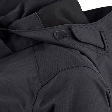 Jackets: Rain jacket e.s.concrete, children's + black 2
