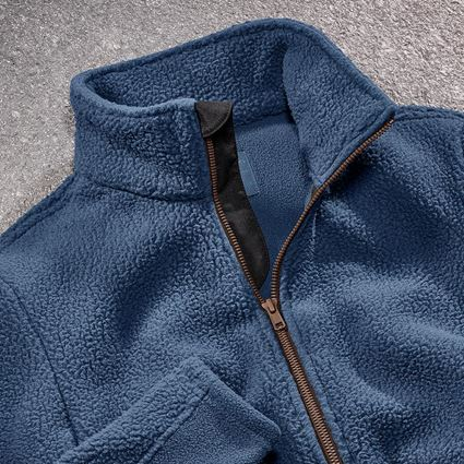 Arbetsjackor: Fiberpälsjacka e.s.vintage, dam + arktisk blå 2