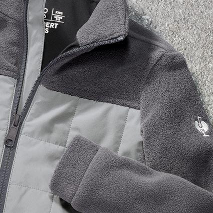 Jackets: Hybrid fleece jacket e.s.concrete, children's + anthracite/pearlgrey 2