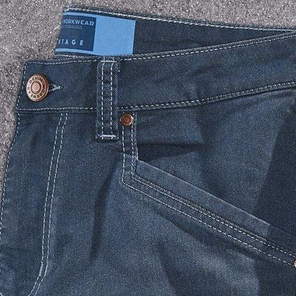 Arbetsbyxor: 5-ficks-byxa e.s.vintage + arktisk blå 2
