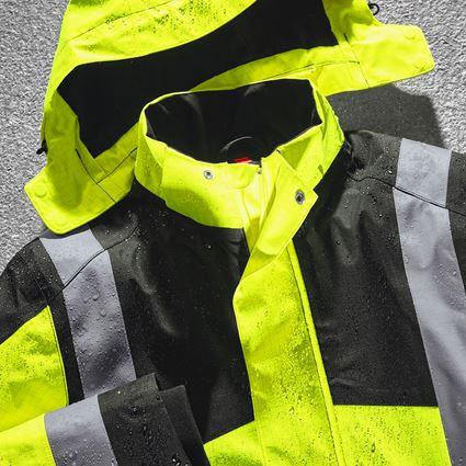 Arbetsjackor: e.s. Väderskyddsjacka multinorm high-vis + varselgul/svart 2
