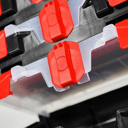 Verktygslådor: STRAUSSbox mini + svart/röd 2