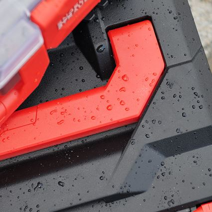Verktygslådor: STRAUSSbox 145 midi + svart/röd 2