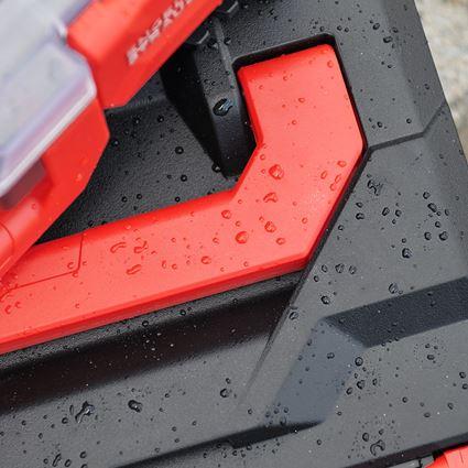 Verktygslådor: STRAUSSbox 145 midi+ + svart/röd 2