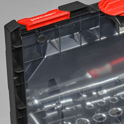 Verktygslådor: Lockfolie inklusive stift STRAUSSbox midi 2
