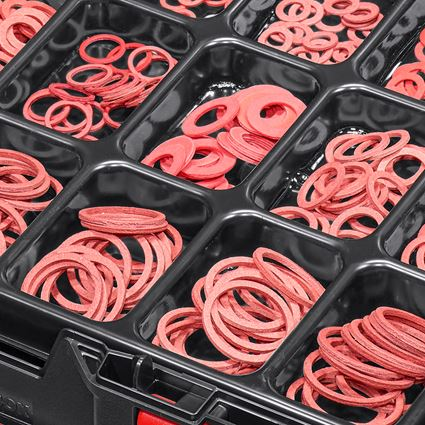 Smådelssortiment: Tätningsringar DIN 7603 i STRAUSSbox 118 midi 2