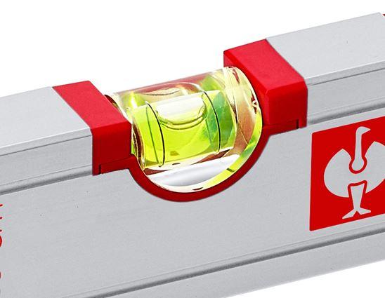 Measuring tools: e.s. Aluminium spirit level magnetic 2