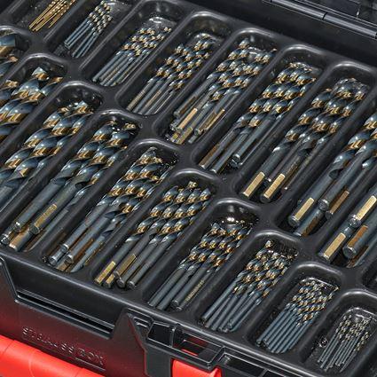 Borrar: HSS-G metallspiralborr sortiment turbo i box 2