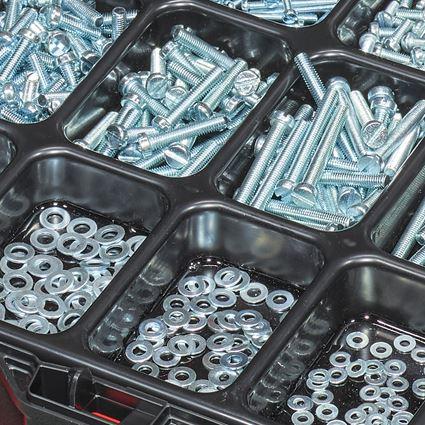 Skruvar: Gängskruvar, ISO 1207 i STRAUSSbox 118 midi 2