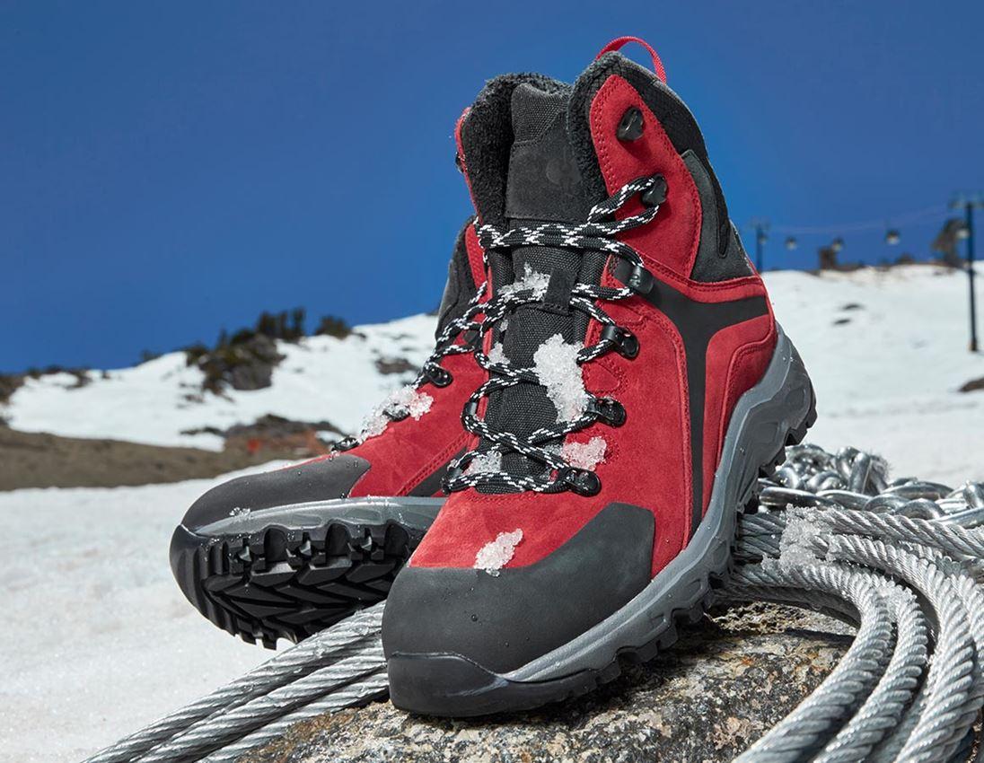 O2: e.s. O2 Work boots Culio + red/black