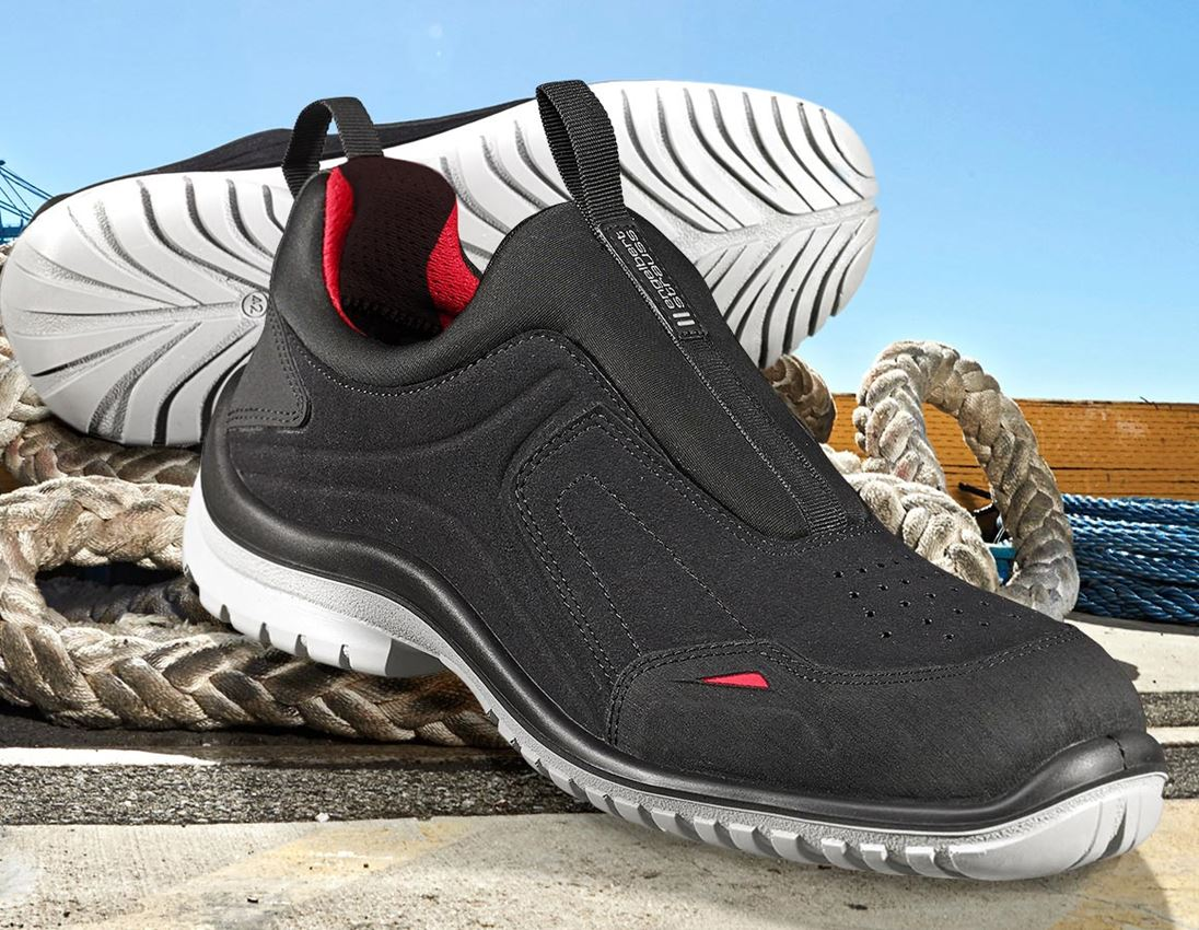 S1P: e.s. S1P Safety shoes Segin + black