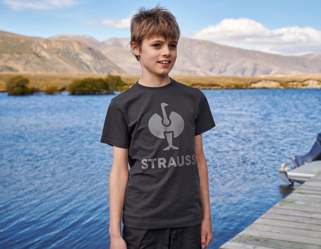 Överdelar: T-Shirt e.s.concrete, barn + svart