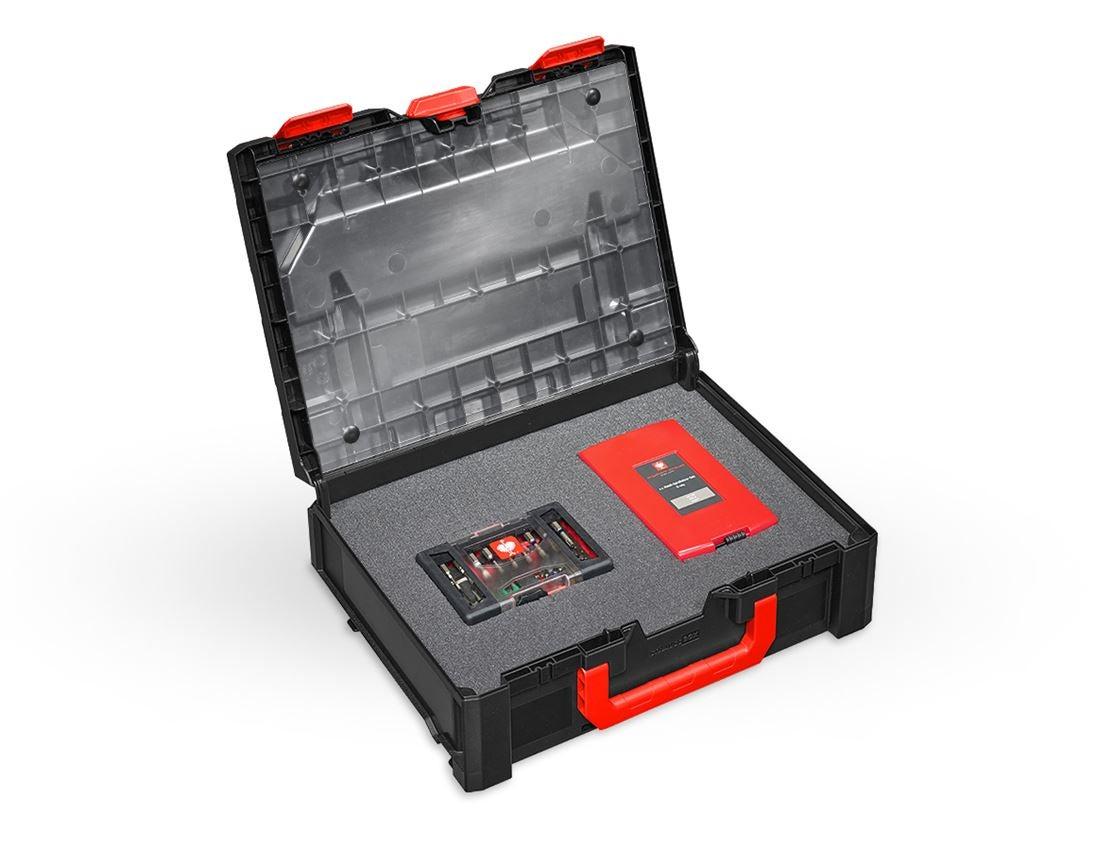 Verktygslådor: Lockfolie inklusive stift STRAUSSbox midi +