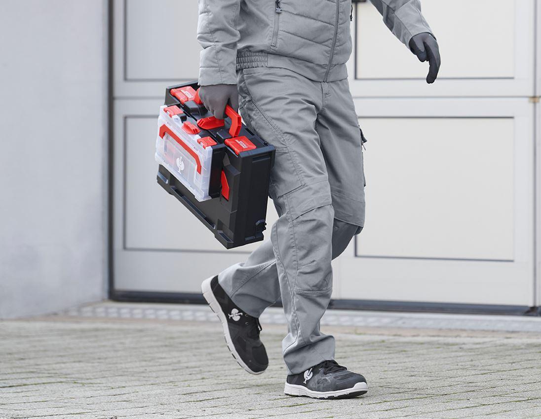 Smådelssortiment: Säkringsringar DIN 471 i STRAUSSbox 118 midi