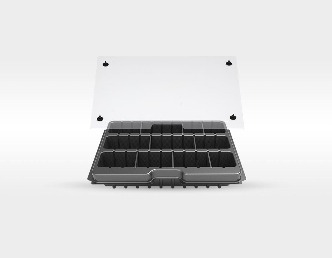 "Verktygslådor: STRAUSSbox verktygs-set Allround 1/4"""