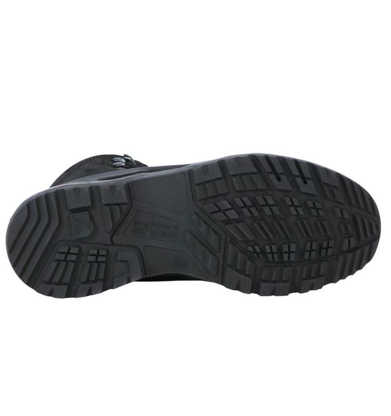 O2: e.s. O2 Work shoes Themisto mid + black 2