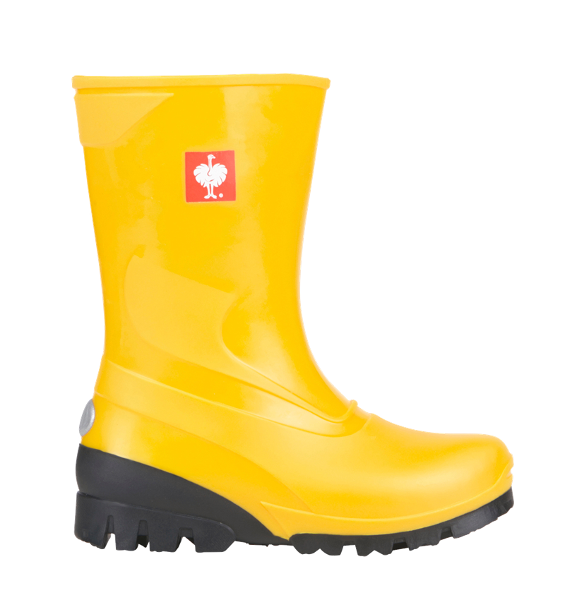 Kids Shoes: Children's boots + yellow