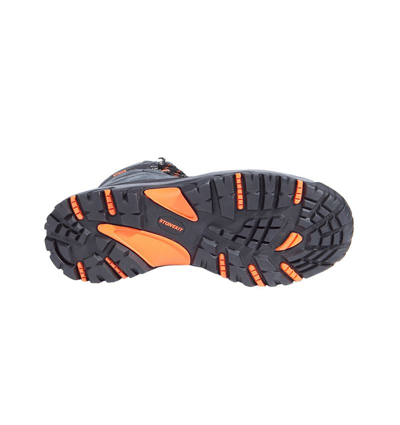 S3: STONEKIT S3 Safety boots Trivero + black/grey 2