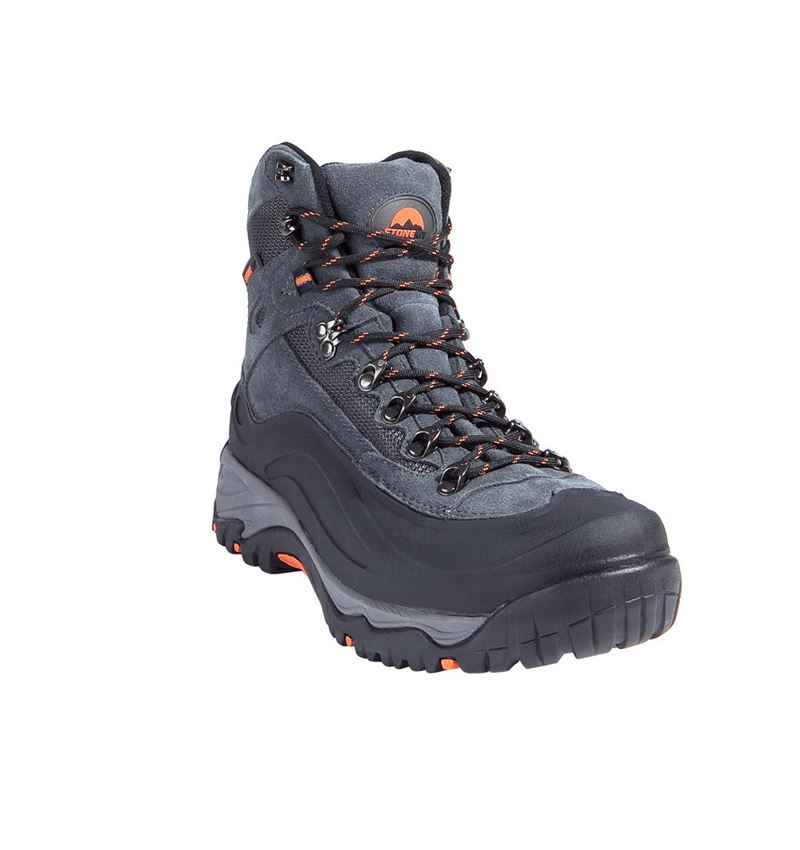 S3: STONEKIT S3 Safety boots Trivero + black/grey