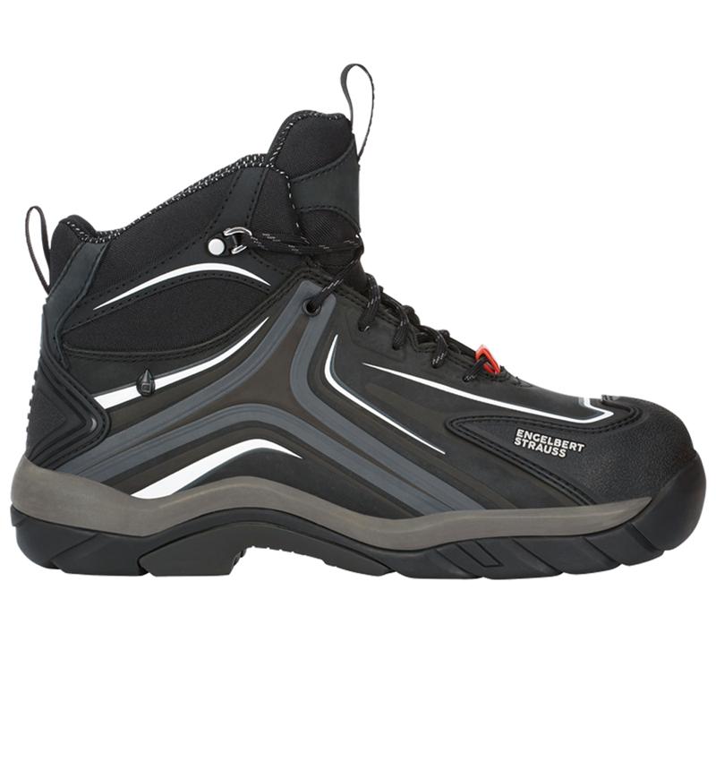 S3: e.s. S3 Safety shoes Cursa + graphite/cement
