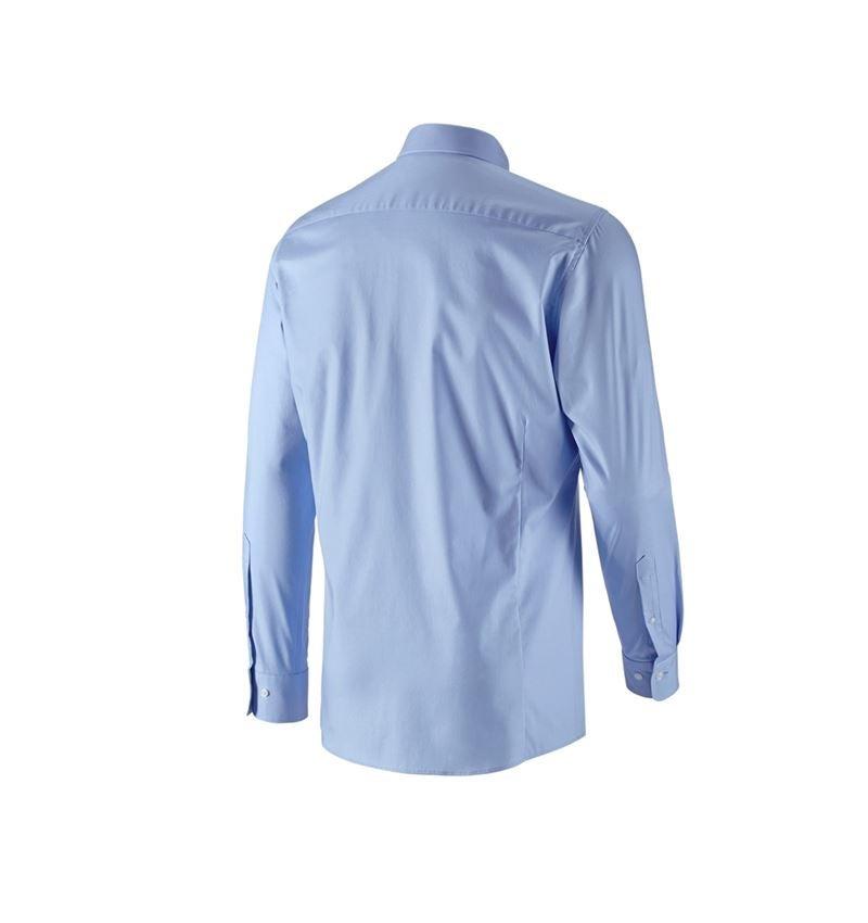 Överdelar: e.s. Kontorsskjorta cotton stretch, slim fit + frostblå 3
