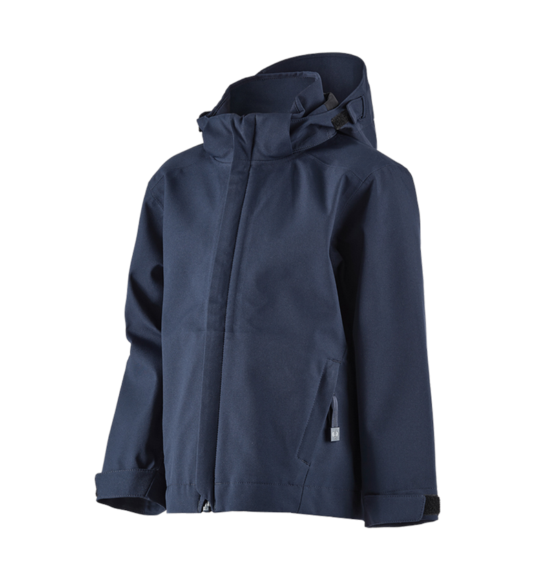 Jackets: e.s. Functional jacket CI, children's + navy