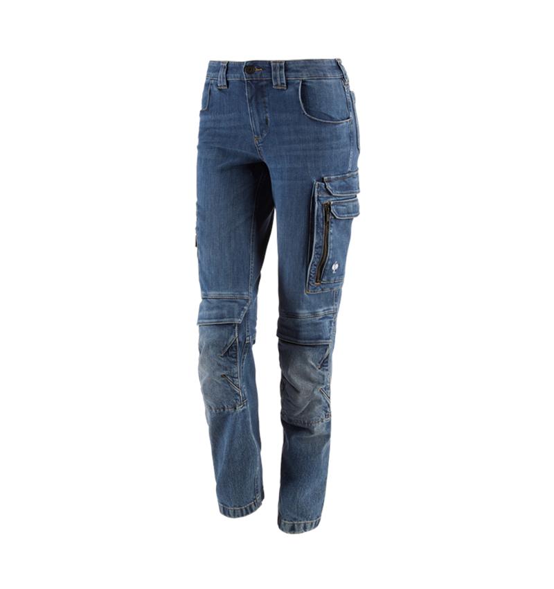 Arbetsbyxor: Cargo worker-jeans e.s.concrete, dam + stonewashed