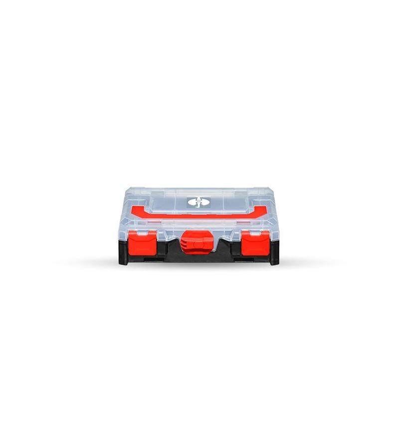 Verktygslådor: STRAUSSbox mini + svart/röd