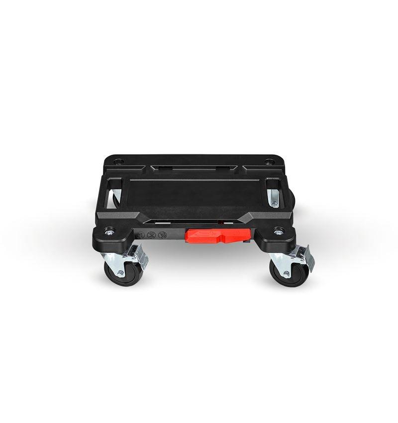 Verktygslådor: STRAUSSbox Cart + svart/röd