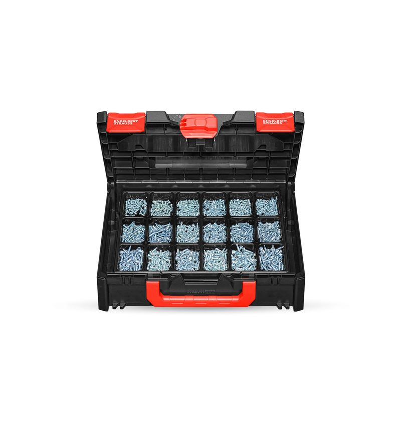 Skruvar: Borrskruvar, DIN 7504 M - H STRAUSSbox 118 midi