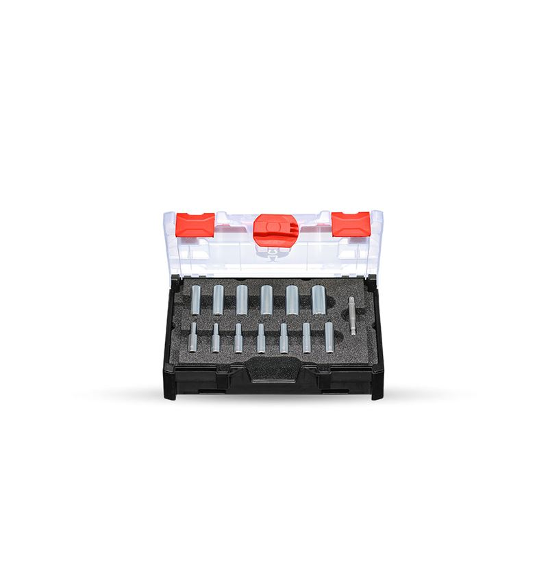 Hylsnyckel: Hylsnyckel-set 1/4 lång i STRAUSSbox mini