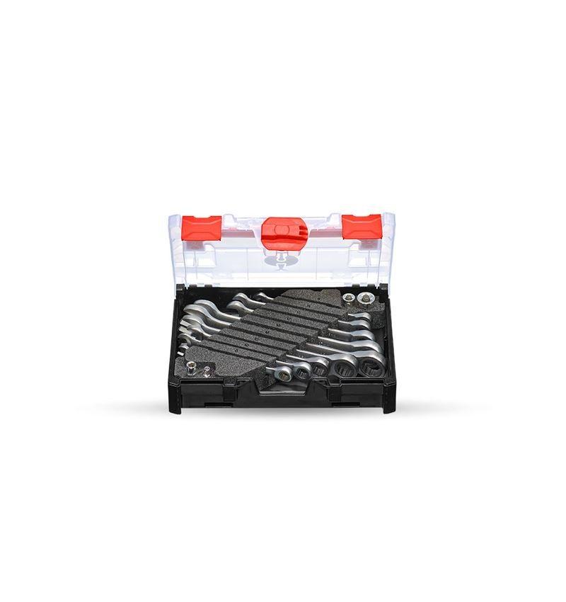Skiftnycklar: e.s. Ratch-Tech-sats, rak i STRAUSSbox mini