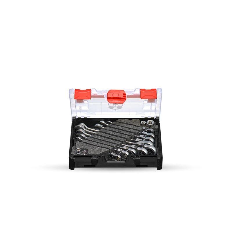 Skiftnycklar: e.s. Ratch-Tech-sats, med länk i STRAUSSbox mini